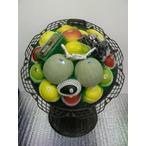 【レンタル】 葬祭用サンプルフルーツ盛籠 フラワーリング大 約5.5kg